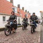Solex_rijden_Zandvoort_Rabbel_dorp